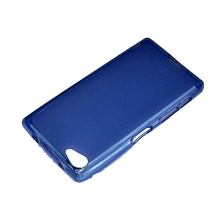 40a451013a5f2 Funda compatible Sony Xperia Z5 Compact Gel Mate Azul
