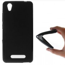 Funda compatible ZTE Blde A452 Gel Mate Negra