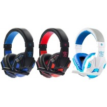 Cascos SY830MV con microfono y Led para PS4 PC varios colores
