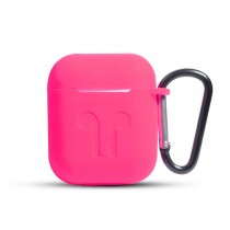 Funda de Goma para AirPods color Rosa