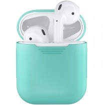 Funda de Goma para AirPods color Verde