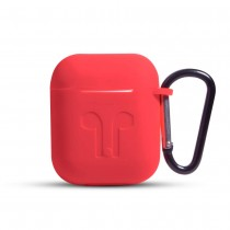 Funda de Goma para AirPods color Rojo