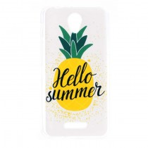 Funda Compatible Alcatel Pop 4 Gel Piña