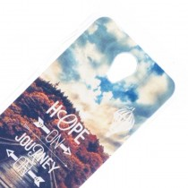 Funda Compatible Alcatel Pop 4 Gel Hope Journey
