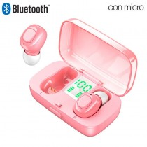 Auriculares Stereo Bluetooth Dual Pod Earbuds Varios colores