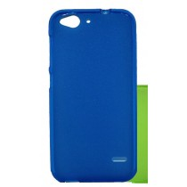 Funda compatible ZTE Blade V6 Gel Mate Azul