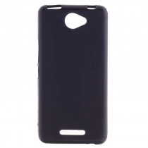 Funda compatible bq Aquaris U Gel Mate Negra