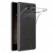 Funda compatible con bq Aquaris U Gel Transparente
