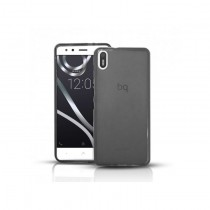 Funda compatible bq Aquaris X5 Gel Mate Negra