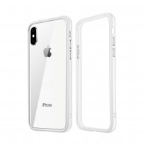 Funda compatible iPhone X Gel Mate Blanca