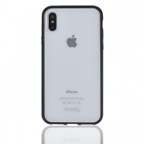 Funda compatible iPhone X Gel Mate Negra