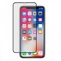Protector Pantalla Cristal compatible iPhone X Transparente Completo