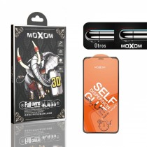 Cristal Templado Moxom para iPhone 6/6S/7/8 Bordes negros calidad insuperable