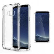 Funda compatible Samsung Galaxy S8 Transparente Anti Shock