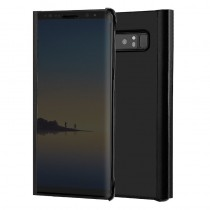 Funda Flip Cover Para Samsung Galaxy Note 8 Clear View Negro