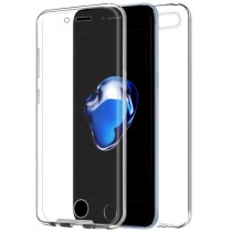 Funda compatible con iPhone 8 Gel Transparente Delantera y Trasera