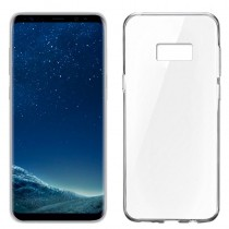 Funda compatible Samsung Galaxy S8 Gel Transparente