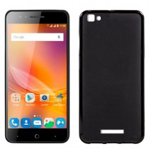 Funda compatible ZTE Blade A610 Gel Mate Negra
