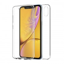 Funda Doble iPhone Xr Transparente Delantera y Trasera