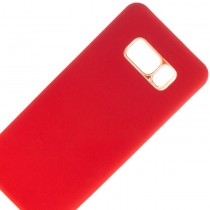 Funda compatible Samsung Galaxy S8 Ultra Thin Rojo Soft