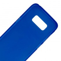 Funda compatible Samsung Galaxy S8 Gel Mate Azul