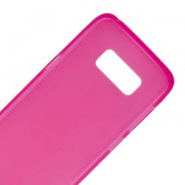 Funda compatible Samsung Galaxy S8 Gel Mate Rosa