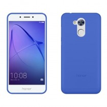 Funda compatible Honor 6A Gel Mate Azul