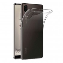 Funda compatible Huawei P20 Gel Transparente
