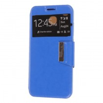 Funda compatible Huawei Ascend Mate 9 Cartera Ventana Azul