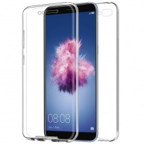 Funda compatible con Huawei P Smart Gel Transparente Delantera y Trasera Ultrathin