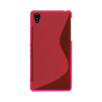 Funda compatible Huawei Ascend Y6 Gel S Line Rosa