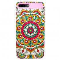 Funda compatible iPhone 7 Plus / iPhone 8 Plus Mandala Circular 2 en 1