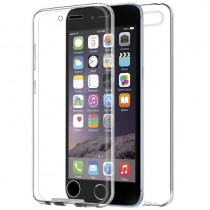 Funda compatible con iPhone 6 Gel Transparente Delantera y Trasera Ultrathin