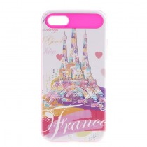 Funda compatible iPhone 7 Francia 2 en 1