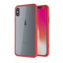 Funda compatible iPhone X Gel Mate Roja