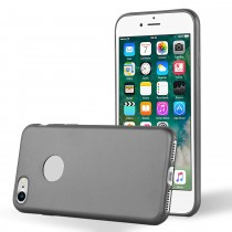 Funda Silicona Mate para iPhone 7/8 Gris
