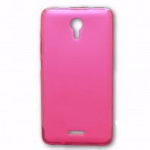 Funda compatible Wiko Jerry 2 Gel Mate Rosa