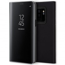 Funda Flip Cover Para Samsung Galaxy S9 Plus Clear View Negro