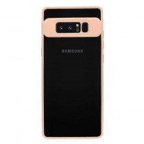 Funda Silicona con bordes en color Nude para Samsung Galaxy Note 8