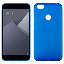 Funda compatible Xiaomi Redmi Note 5A Gel Mate Azul