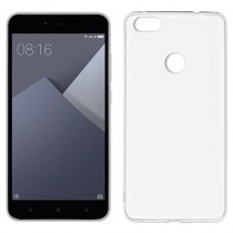 Funda compatible Xiaomi Redmi Note 5A Gel Mate Blanca