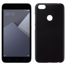 Funda compatible Xiaomi Redmi Note 5A Gel Mate Negra
