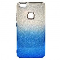 Funda compatible Huawei P10 Lite Gel Brillantina Azul