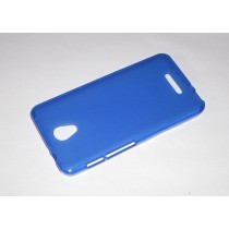 Funda compatible Alcatel Pop 4 Gel Mate Azul