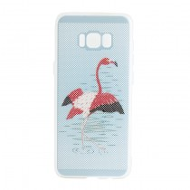 Funda compatible Samsung Galaxy S8+ Gel Flamenco