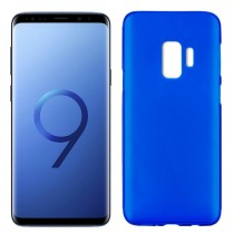 Funda compatible Samsung Galaxy S9 Gel Mate Azul
