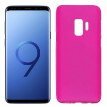 Funda compatible Samsung Galaxy S9 Gel Mate Rosa