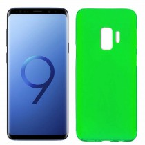Funda compatible Samsung Galaxy S9 Gel Mate Verde