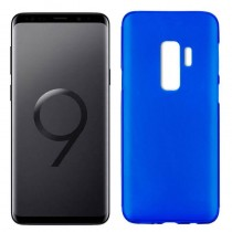Funda compatible Samsung Galaxy S9+ Gel Mate Azul