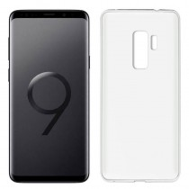 Funda compatible Samsung Galaxy S9+ Gel Mate Blanca